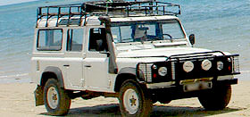 Madagascar Land Rover expedition